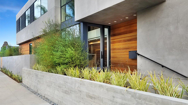 Rainscreen Siding by Wood Haven the Dorsky Residence in California